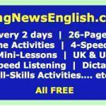 Dernières nouvelles Leçons d'anglais: Easy English World News ...