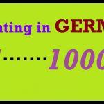 Apprendre l'allemand | Leçon 3 | Comptez en allemand 1 à 1000 | Prononciation de nombres | Allemand pour débutants