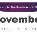 Apprendre l'allemand | Leçon 2 | Comment dire les mois d'une année en allemand | allemand pour débutants | Vocabulaire