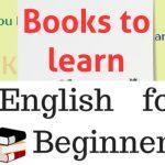 Les meilleurs livres pour apprendre l'anglais pour les débutants. Livres pour apprendre l'anglais. ।। Par Book tuber bittu