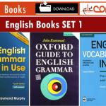 30+ livres en anglais pour la grammaire et le vocabulaire Télécharger SET gratuit 1