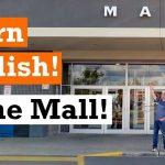 Apprenons l'anglais au centre commercial | Vidéo en anglais avec sous-titres