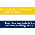 Anglais - Allemand pour débutants / Leçon 1 (modèle de vocabulaire, partie 3)