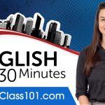 Apprenez l'anglais en 30 minutes - TOUTES les bases de l'anglais dont vous avez besoin