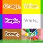 The Colors Song ~ Apprenez les couleurs / couleurs ~ APPRENEZ L'ANGLAIS avec l'anglais naturel ~ APPRENEZ LE VOCABULAIRE