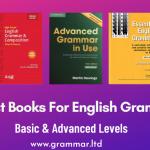 Meilleurs livres de grammaire anglaise (liste triée sur le volet 2021)